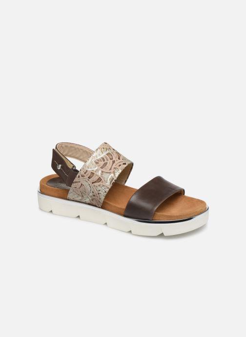 Sandales et nu-pieds Elizabeth Stuart Platon 805 Marron vue détail/paire
