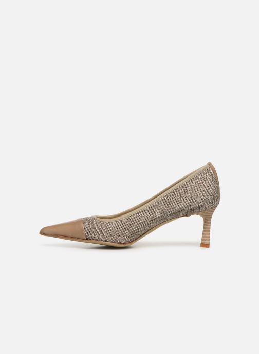 Zapatos de tacón Elizabeth Stuart Recife 200 Beige vista de frente