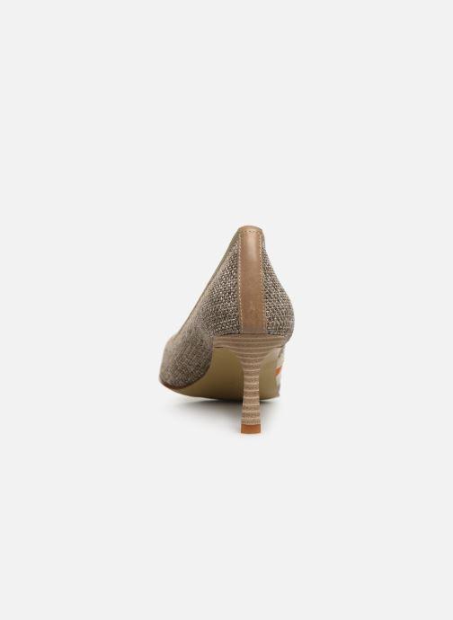 Zapatos de tacón Elizabeth Stuart Recife 200 Beige vista lateral derecha