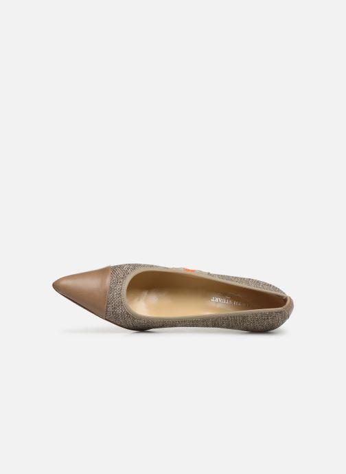 Zapatos de tacón Elizabeth Stuart Recife 200 Beige vista lateral izquierda