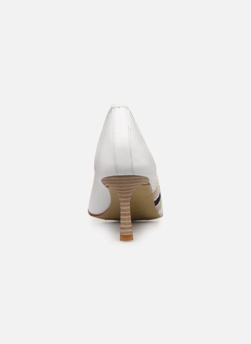 Zapatos de tacón Elizabeth Stuart Recife 304 Blanco vista lateral derecha
