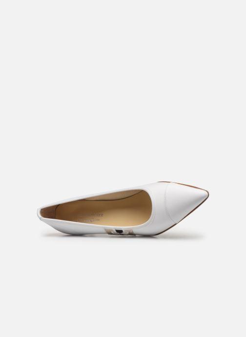Zapatos de tacón Elizabeth Stuart Recife 304 Blanco vista lateral izquierda