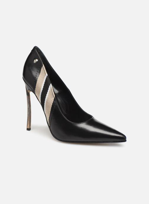 High heels Elizabeth Stuart Xonon 304 Black detailed view/ Pair view