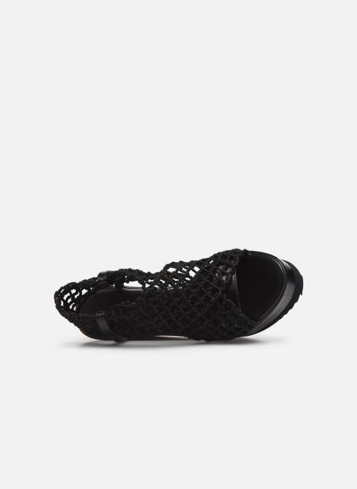 Sandales et nu-pieds Elizabeth Stuart Zymet 292 Noir vue gauche