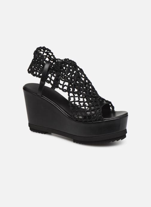 Sandaler Elizabeth Stuart Zymet 292 Sort detaljeret billede af skoene