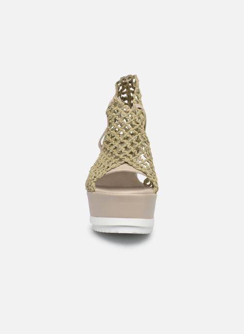 Sandales et nu-pieds Elizabeth Stuart Zynet 292 Beige vue portées chaussures