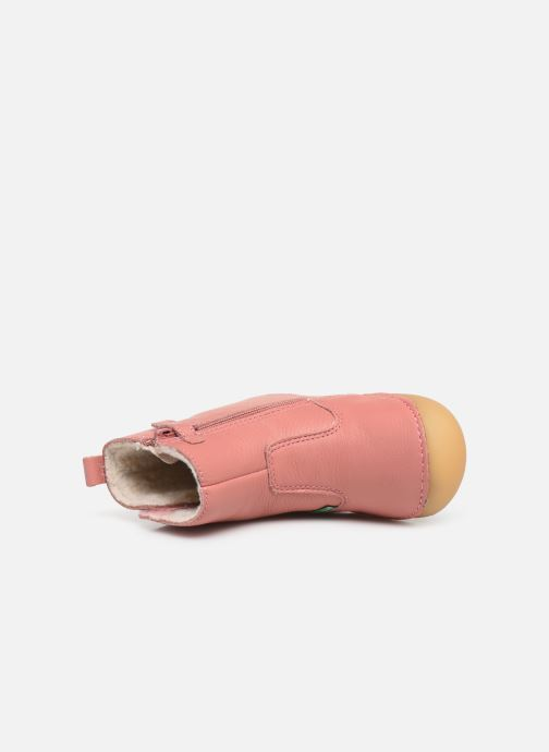 Laarzen Kickers Socool Cho Roze links