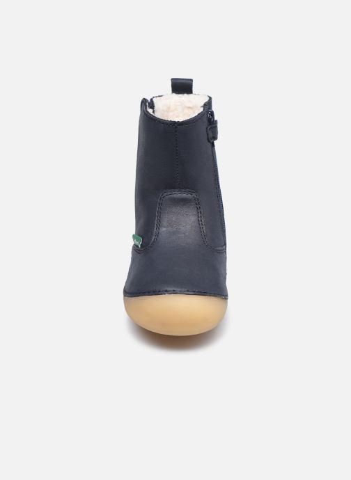Stiefel Kickers Socool Cho blau schuhe getragen