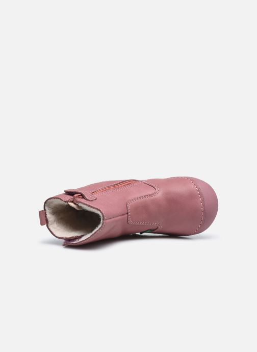 Stivali Kickers Socool Cho Rosa immagine sinistra