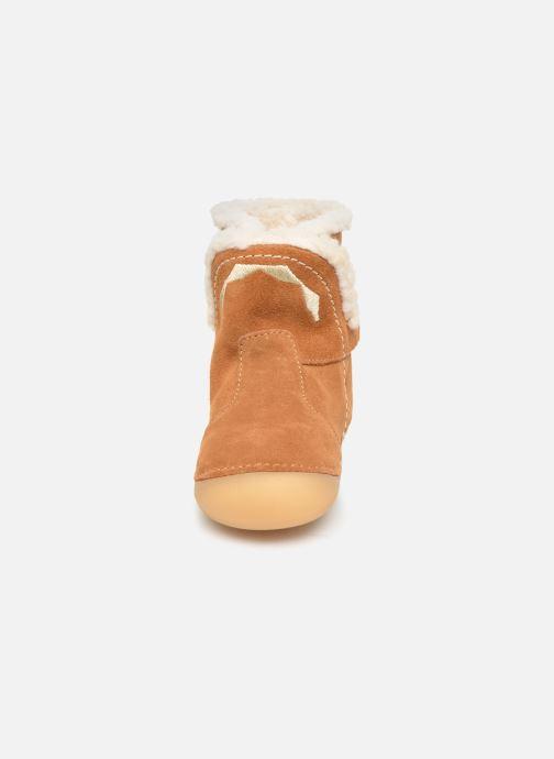 Stivali Kickers Sofur Marrone modello indossato