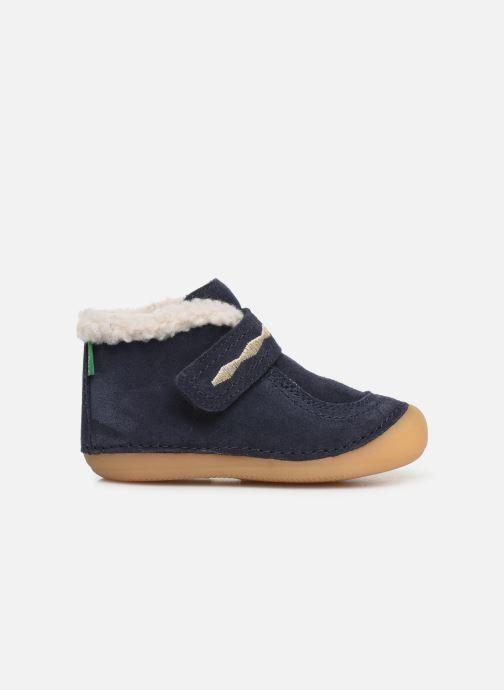 Bottines et boots Kickers Soetnic Bleu vue derrière