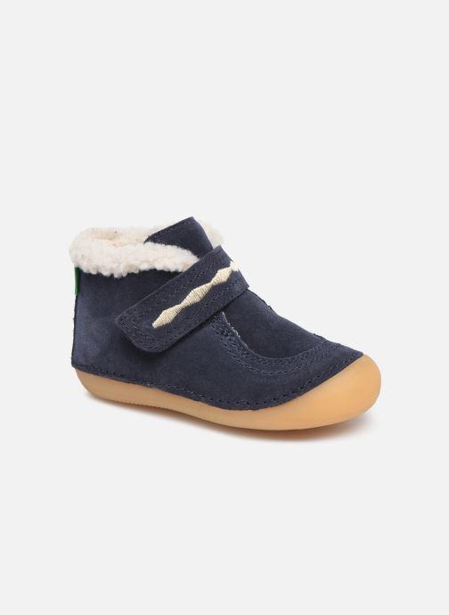 Bottines et boots Kickers Soetnic Bleu vue détail/paire