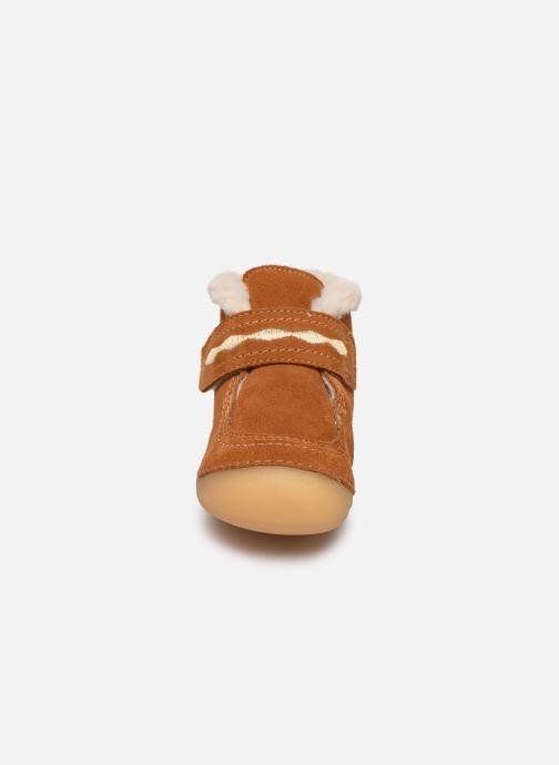 Bottines et boots Kickers Soetnic Marron vue portées chaussures