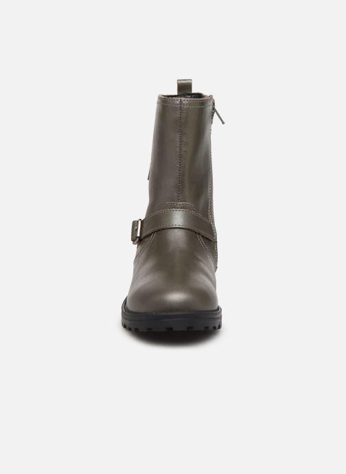 Stiefel Kickers Grammi silber schuhe getragen
