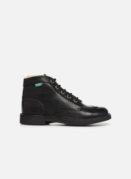 Bottines et boots Kickers Kickcol Fur Noir vue derrière