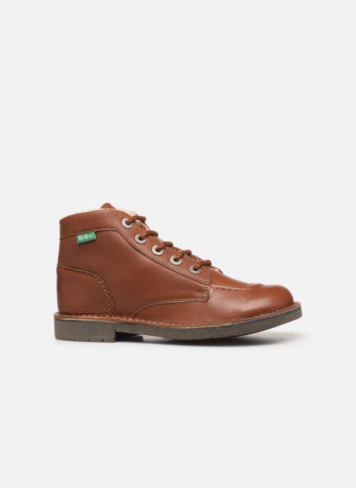 Boots en enkellaarsjes Kickers Kickcol Fur Bruin achterkant