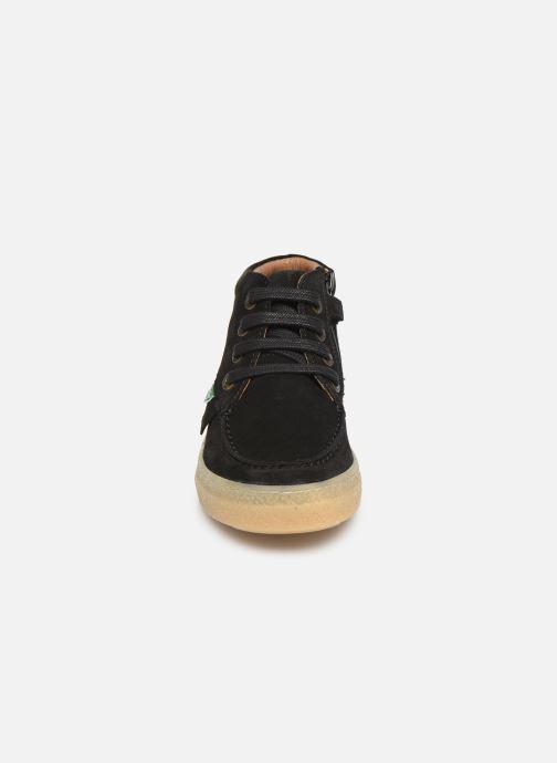 Bottines et boots Kickers Salma Noir vue portées chaussures