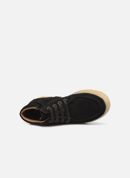 Bottines et boots Kickers Salma Noir vue gauche