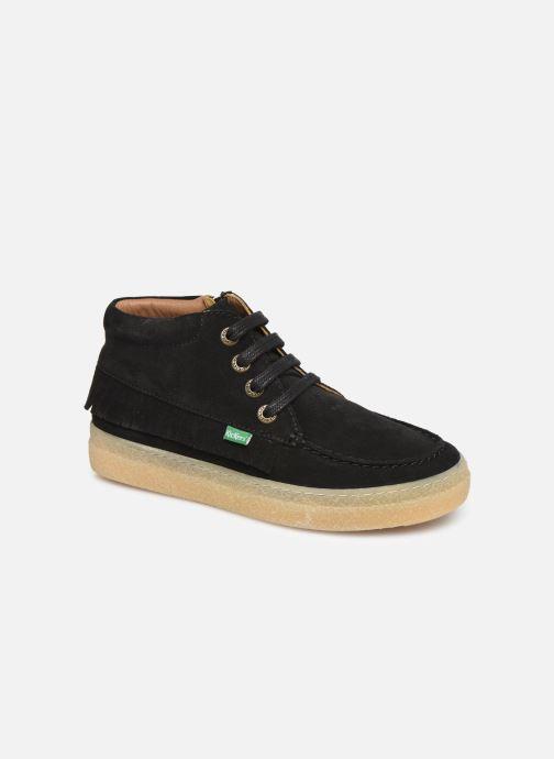 Bottines et boots Kickers Salma Noir vue détail/paire