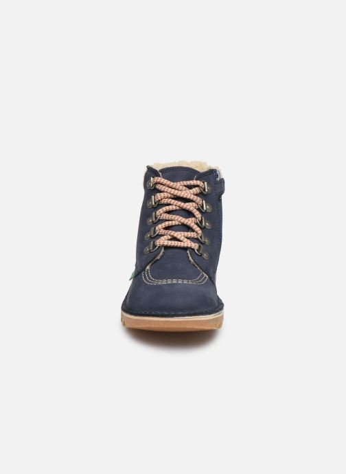 Stiefeletten & Boots Kickers Neohook blau schuhe getragen