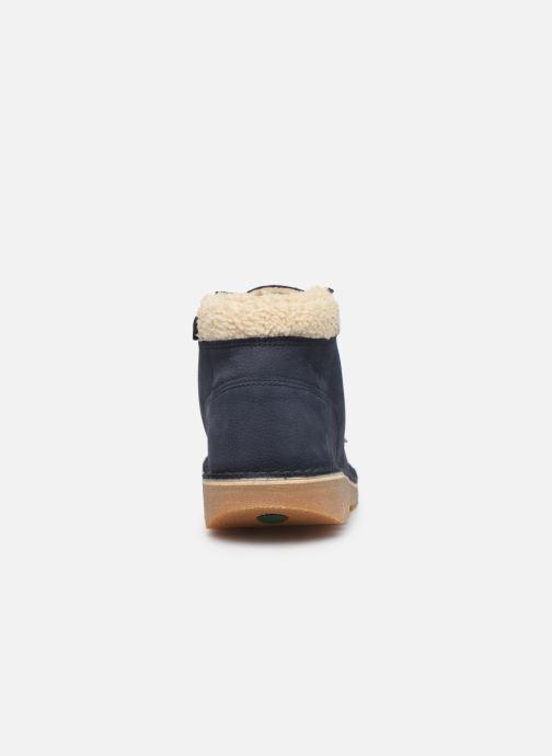Bottines et boots Kickers Neohook Bleu vue droite