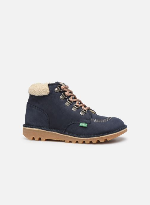 Stiefeletten & Boots Kickers Neohook blau ansicht von hinten