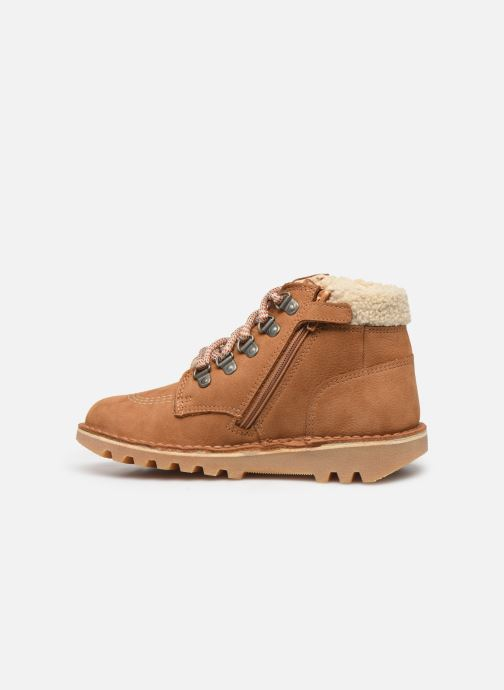 Boots en enkellaarsjes Kickers Neohook Bruin voorkant