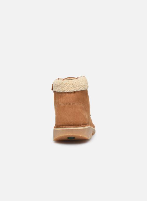 Boots en enkellaarsjes Kickers Neohook Bruin rechts