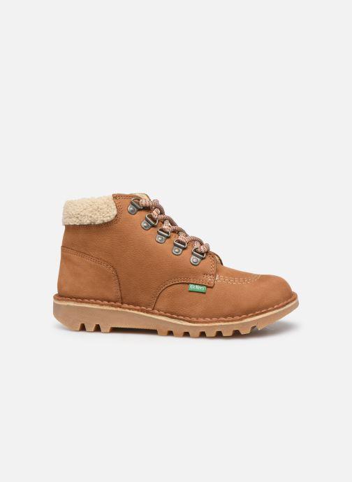 Boots Kickers Neohook Brun bild från baksidan