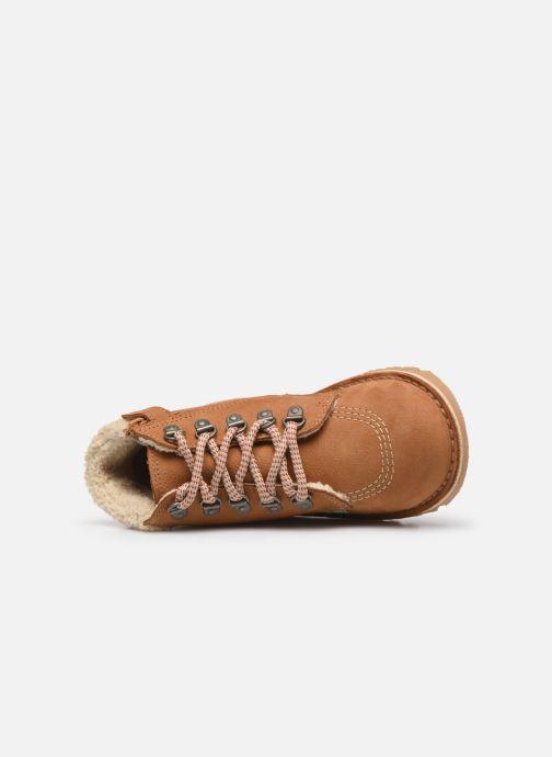 Boots en enkellaarsjes Kickers Neohook Bruin links