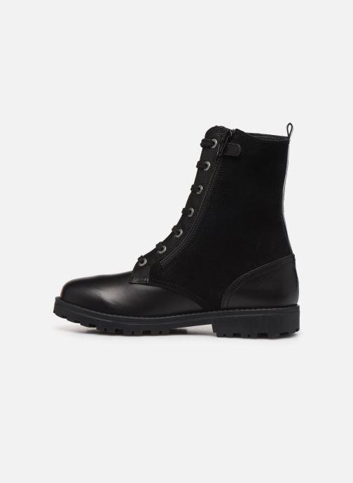 Bottines et boots Kickers Growupp Noir vue face