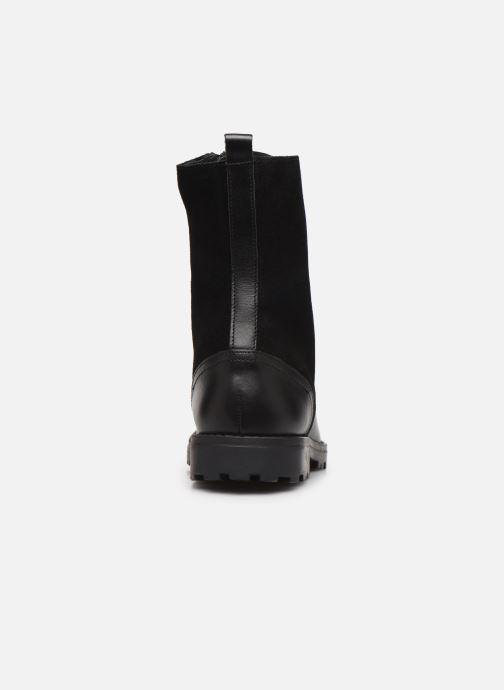 Bottines et boots Kickers Growupp Noir vue droite
