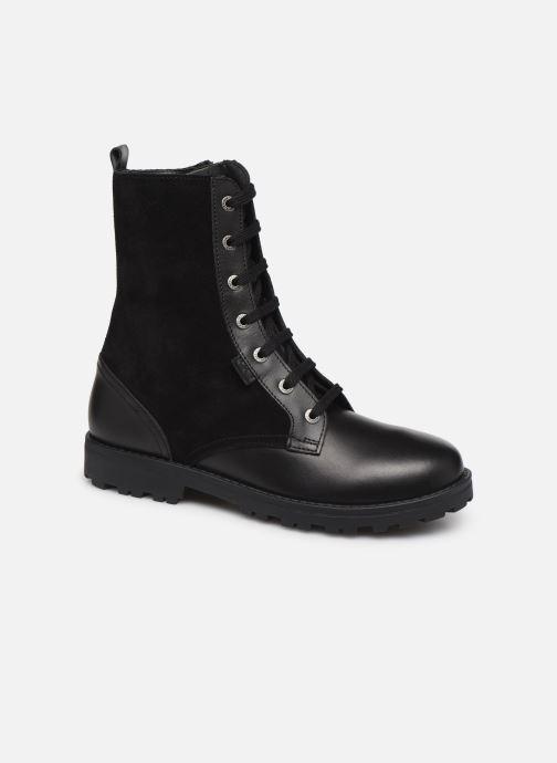 Bottines et boots Kickers Growupp Noir vue détail/paire