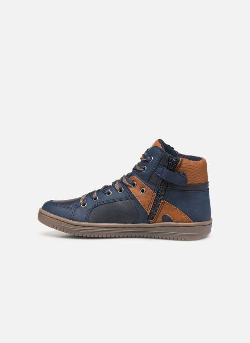 Sneakers Kickers Lowell Blauw voorkant