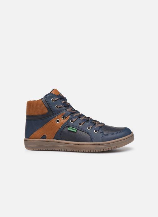 Sneakers Kickers Lowell Blauw achterkant