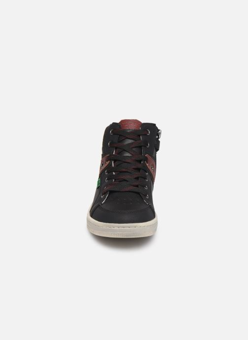 Sneakers Kickers Lowell Zwart model
