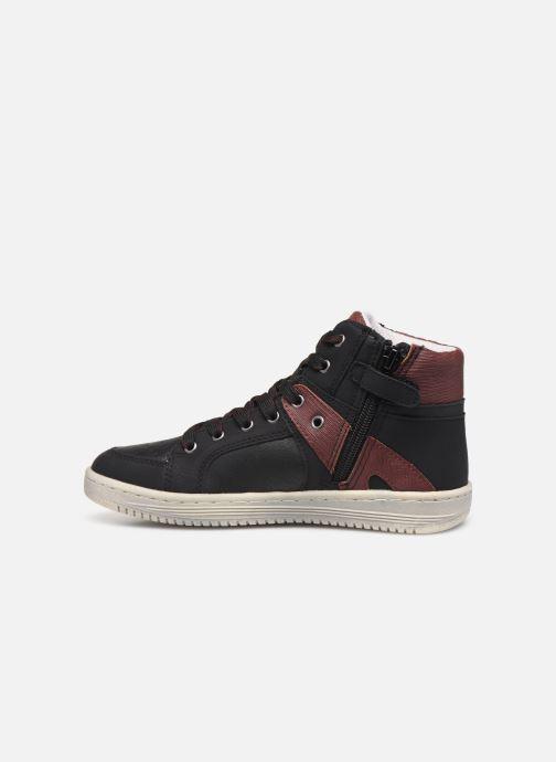 Sneakers Kickers Lowell Zwart voorkant