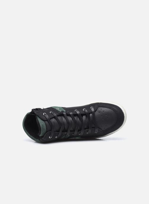 Sneakers Kickers Lowell Nero immagine sinistra