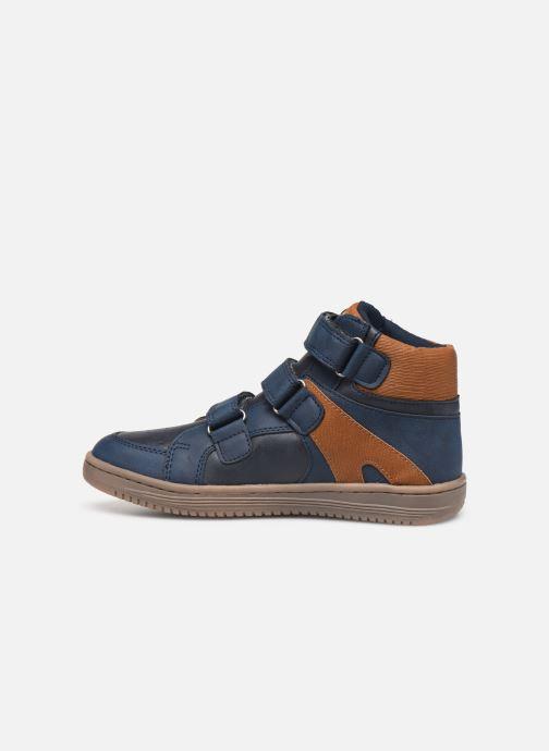 Sneakers Kickers Lohan Azzurro immagine frontale