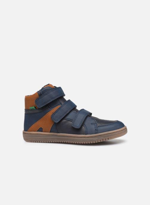 Sneakers Kickers Lohan Azzurro immagine posteriore