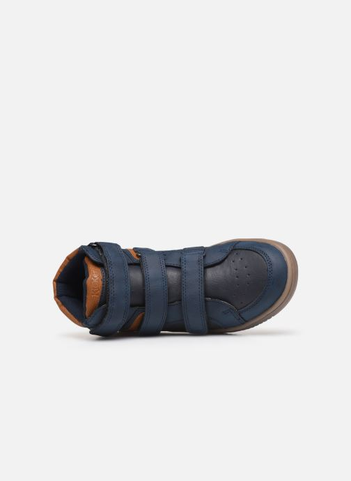 Sneakers Kickers Lohan Blauw links