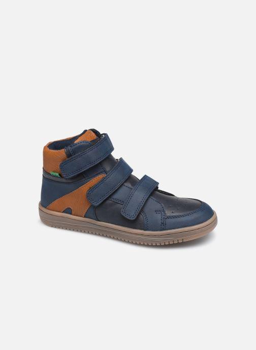 Sneakers Kickers Lohan Blauw detail