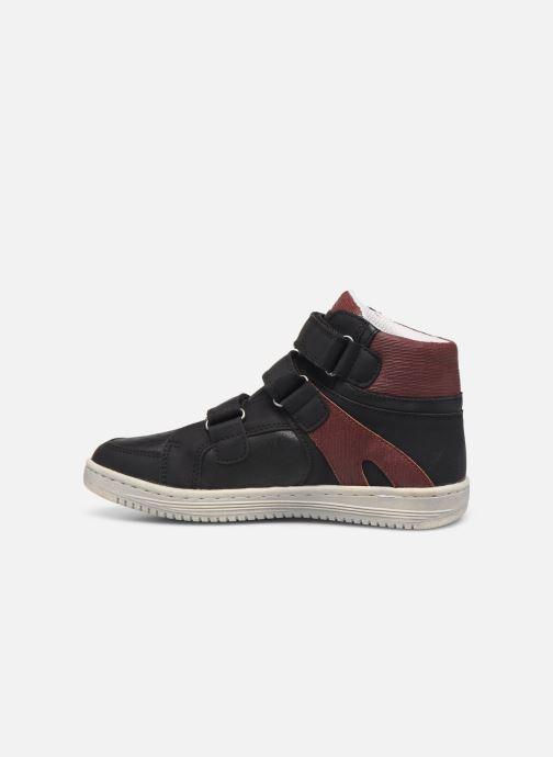 Sneakers Kickers Lohan Zwart voorkant