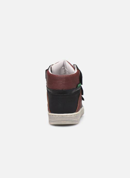 Sneakers Kickers Lohan Zwart rechts