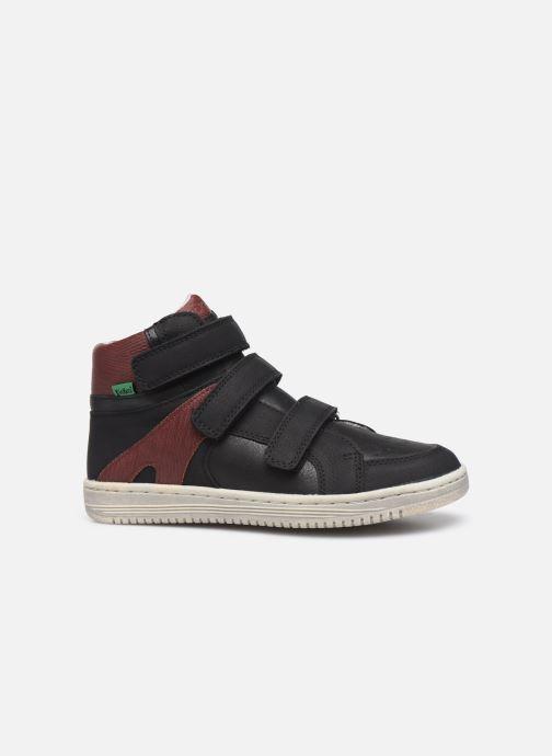 Sneakers Kickers Lohan Zwart achterkant
