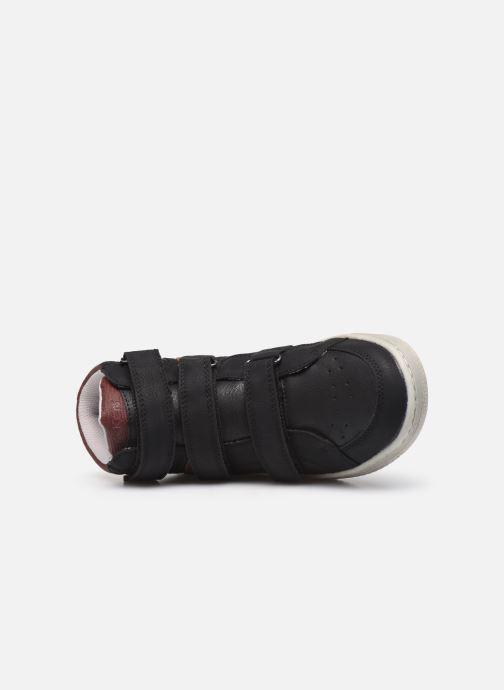 Sneakers Kickers Lohan Zwart links
