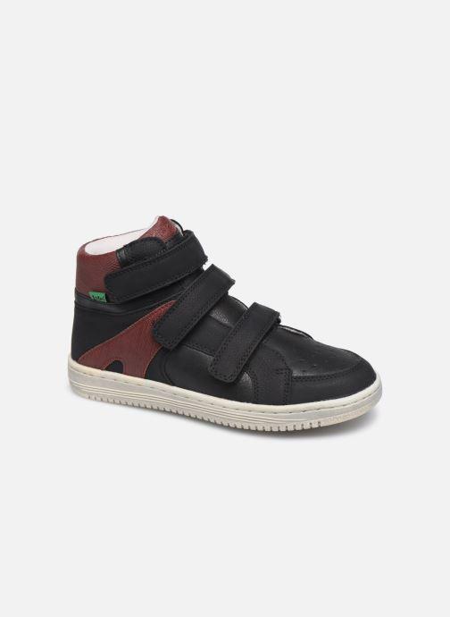 Sneakers Kickers Lohan Zwart detail