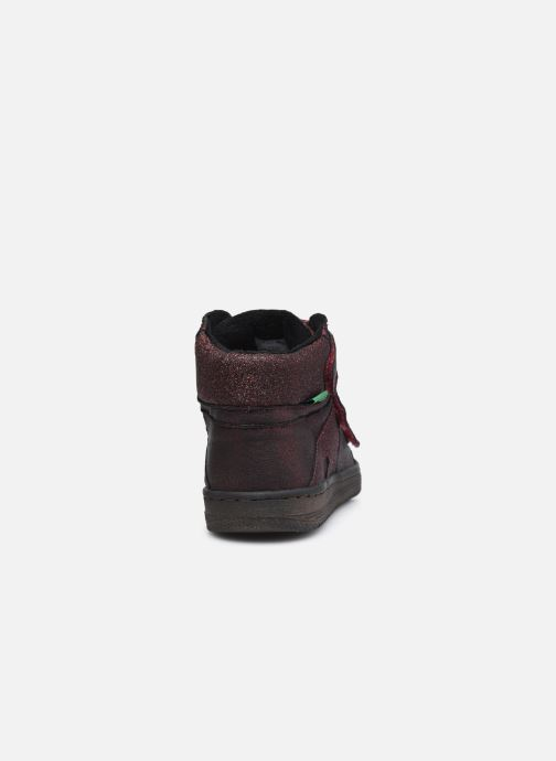 Sneakers Kickers Lohan Bordò immagine destra
