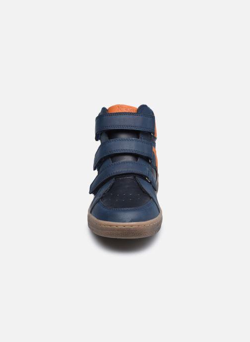 Sneaker Kickers Lohan blau schuhe getragen