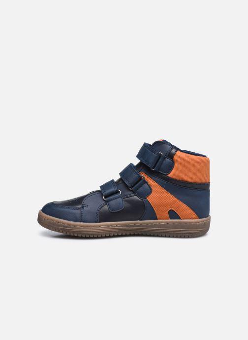 Sneaker Kickers Lohan blau ansicht von vorne